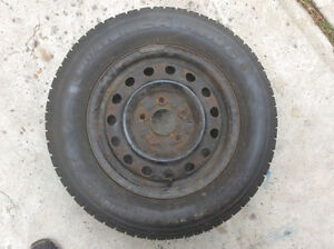 Studded 195 65 14 Winter tires