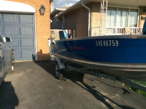 Prince craft fisherman boat for sale