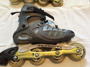 Women's Salomon Roller Blades (size 9) Kitchener / Waterloo Kitchener Area image 3