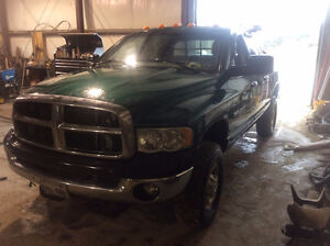 2003 Dodge Ram 2500 Cummins  Snow Plow