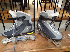 Nike men's roller blades size 12 North Shore Greater Vancouver Area image 2