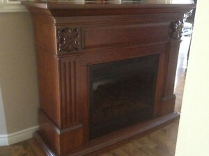 Sold pending pickup - Electric fireplace mantle