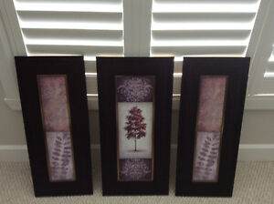 Set of three prints by Fine Art from Lijue Collection Peterborough Peterborough Area image 1