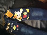 Deux pantalon pour garçon