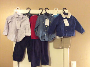 Lot of 9 PC. Excellent condition 18-24 month boys clothing.