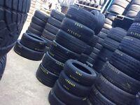 TYRES @ Low Prices . Car & Van Tyre Shop . Free fittings . Partworn Used Tires !
