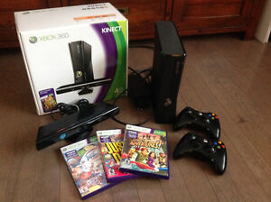4GB Xbox 360 Slim console with Kinect sensor