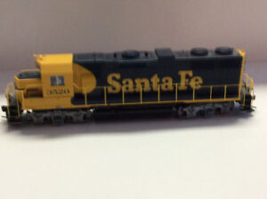 Train HO Athearn Santa fe