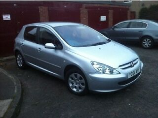 £300 no offers 2004 peugeot 307 2.0 hdi