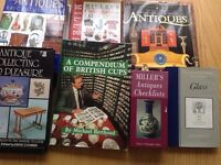 Antique collecting books