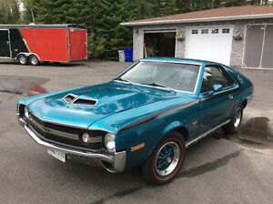 1970 AMX Numbers Matching Car