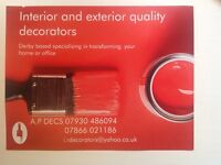 PAINTERS AND DECORATORS A.P DECS