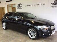 2011 BMW 1 Series 2.0 118d Urban 5dr Diesel black Manual
