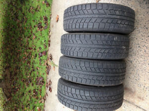 4 winter tires size 185/60/15. Came off a Yaris.