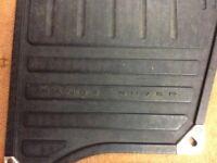 Range Rover front rubber mats