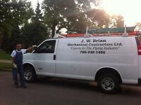 Furnace/Boiler Repair.  JW Brian Mechanical
