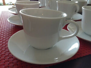 Royal Doulton Simply White Cup and Saucer x8