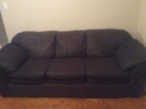 Need to Sell by Sunday *Black Cloth Sofa Set*
