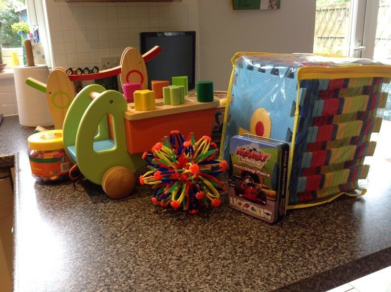 Selection of toddlers toys