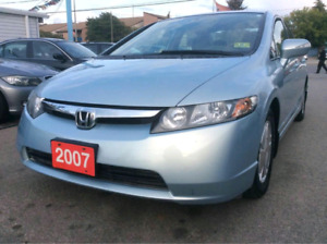 2007 Honda Civic Hybrid GPS Navigation ACTIVE