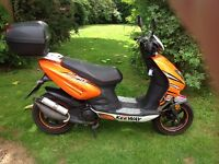 Keeway F-act 50cc moped