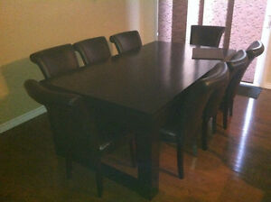 Dinning room table and charis