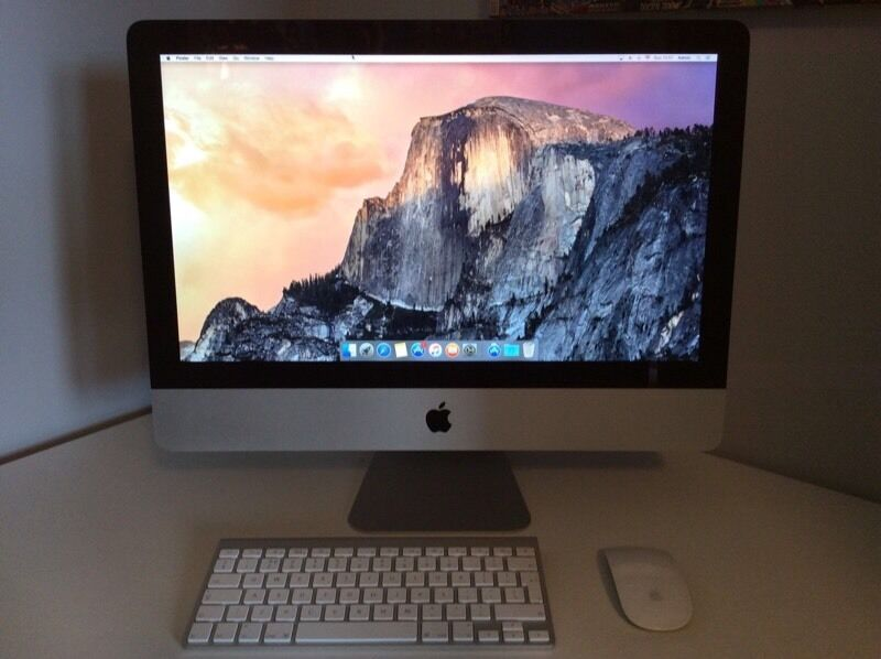 Apple iMac 2014 mid with 10 month apple warrantyin Bradford, West YorkshireGumtree - Apple iMac 2014 mid with 10 month apple warranty 1.4Ghz500Gb HDDCore i5Pick up from Mobile world 96 heaton road Bd9 4rj Bradford