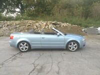 Audi A4 convertable 2003 stunning fsh!