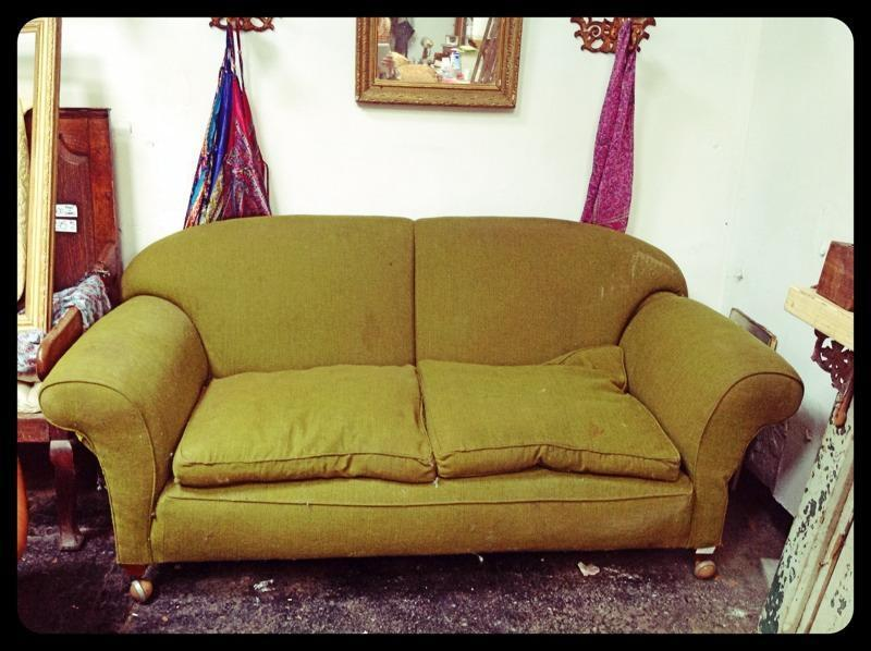 Beautiful vintage drop arm sofa in south queensferry for Furniture queensferry