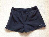 Reebok black sports shorts Ladies Size 14 - excellent condition