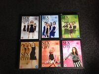 sex and the city boxsets x 6