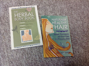 2 books- the Herbal Body, Naturally Healthy Hair