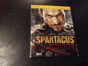 Spartacus Blood and Sand Bluray