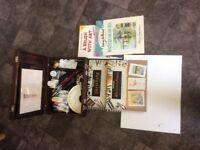 ARTIST BOX AND MATERIALS