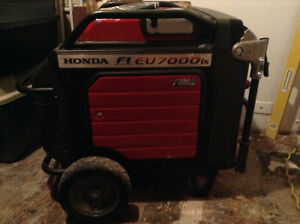 Honda generator fI EU7000is