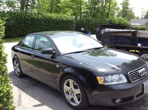2003 Audi A4 1.8LT Quattro - comes with set of winter tires