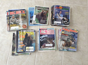 Vintage Outdoor & Hunting Magazines