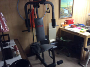 Weirder home gym set.