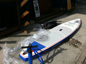 Inflatable Starboard Stand-up-paddle board | Astro touring 12'6