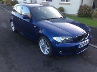 BMW 118 diesel ,m sport 40k miles £30 tax 5 door 2009