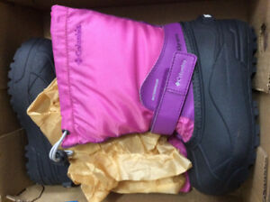 Columbia Powderbug Forty girls winter boots - Brand New