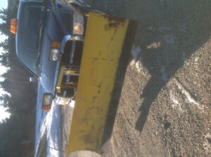 7 1/2 FT FISHER MINUTE MOUNT PLOW