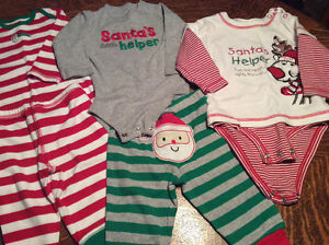 Christmas clothes bunch - size 6m Cambridge Kitchener Area image 3