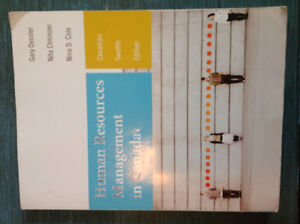 Textbook - Human Resources Management In Canada