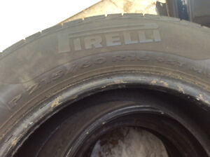 Pirelli P4 mud and snow tires