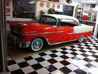 Nice all original 1955 Chevy Bel Air Hardtop sale or trade