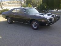 Numbers Correct 1969 GTO Judge Frame Off Restoration PHS Docs