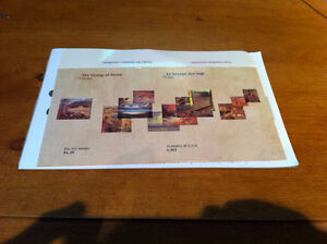 Canada mint unused postage stamps The Group of Seven 75 years un