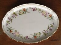 Wedgwood China Mirabelle oval plate