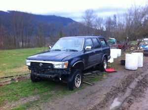 1995 Toyota 4Runner SUV, Crossover PARTS/PROJECT
